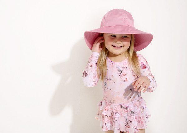 Letný klobúk pre dievčatá