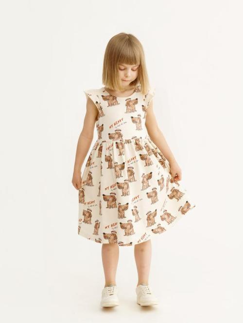 Dievčenské bavlnené šaty