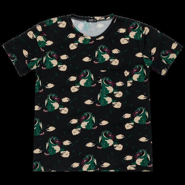 Zelené pánske tričko s krátkym rukávom
