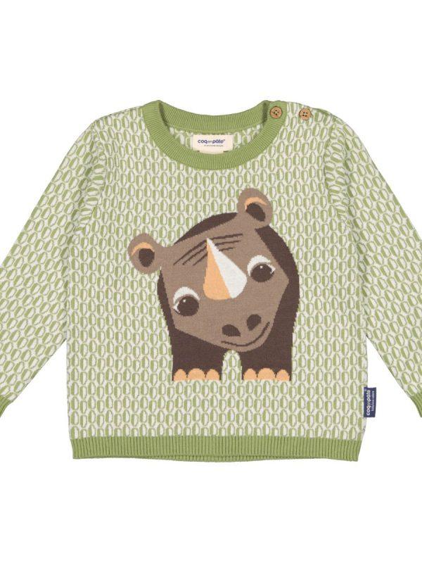 Detský sveter z vlny